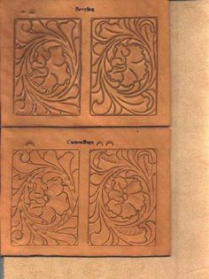 Leather Carving Patterns How to