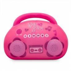 Almofofa Alto-falante Rádio Pink