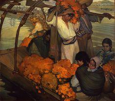 """""""La Ofrenda"""" - Saturnino Herrán (1913) www.mexicana-nirvana.com"""