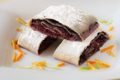 Slovak Recipes, Czech Recipes, Ethnic Recipes, Strudel, Sweet Recipes, Sweet Tooth, Deserts, Food And Drink, Cooking Recipes