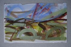 Wales - Caerphilly. Oil on paper. 08/2003