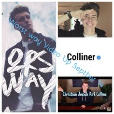 """Christian Collins Music Video For """"Worst Way"""", is up on September 14th. YouTube Channel: WeeklyChris Snapchat: Weekly-Chris Make sure 2 check it out!!!"""