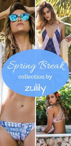 Shop the Zulily swimsuit sale and be ready for spring break #ad #swimsuit #springbreak
