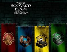 Which Hogwarts House Do You Belong In?  Play the Personality Quiz.