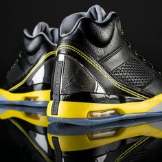 wholesale dealer 9507d f30f2 Vibrant yellow pops up on the latest Jordan Future Flight Remix. Get these  shoes now