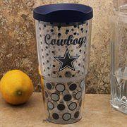 Tervis Tumbler Dallas Cowboys 24oz Polka Dot Wrap Tumbler with Lid