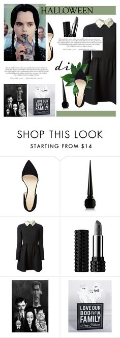 """""""DIY Halloween Costume"""" by antemore-765 ❤ liked on Polyvore featuring Nine West, Christian Louboutin, Valentino, Kat Von D, women's clothing, women, female, woman, misses and juniors"""