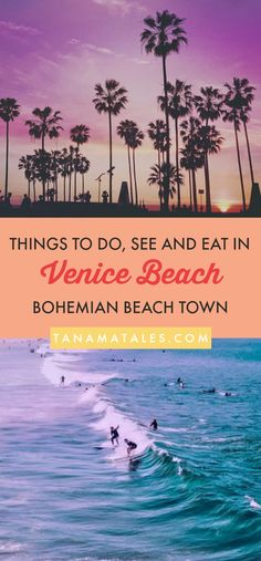 Things to do in Venice Beach, – Travel tips and ideas - As a long-time area resident, I am giving you my best recommendations on things to do in Venice Beach. Get ready to discover a free-spirited boardwalk, hip Abbot Kinney Boulevard, tons of Venice Beach California, California Travel, Venice Beach Florida, Usa Roadtrip, Travel Guides, Travel Tips, Travel Destinations, Travel Hacks, Travel Stuff