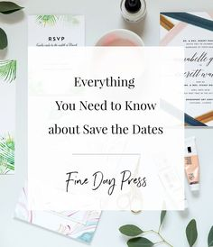 This post covers everything you need to know about Save the Dates –  How, when and why to send them! Read on below for my pro tips