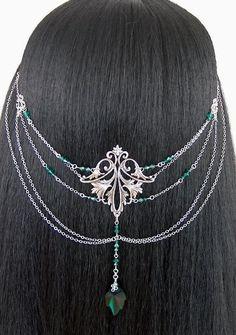 ~ Elvish Crystal Leaf Headpiece ~