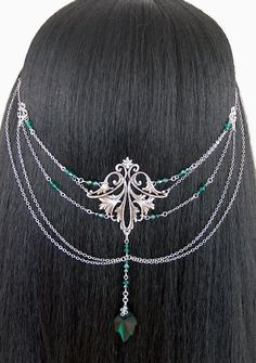 ~ Elvish Crystal Leaf Headpiece ~