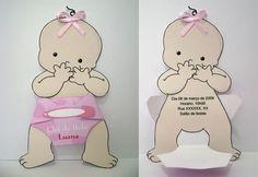 Soluções Convites & Lembrancinhas: Chá de Bebê