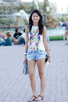 30 Street Style Shots From The Lollapalooza Music Festival