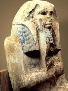 Egyptian pharaoh Djoser, commissioned the step pyramid, precursor to the great pyramids