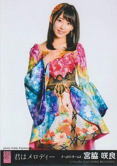 AKB48 - Kimi Wa Melody ( Miyawaki sakura ) Sakura-tan.