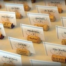 DIY Wedding Challenge: How to make a cork placecard holder - Project Wedding