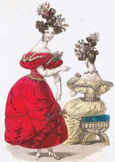 Очарование и изысканность: цветочные мотивы в женских нарядах 19 века - Ярмарка Мастеров - ручная работа, handmade
