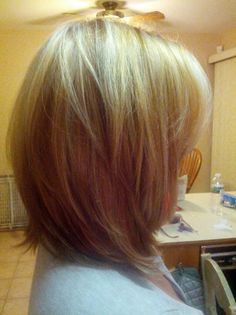Shoulder length hair with layers