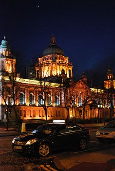 #Belfast City Hall at night!