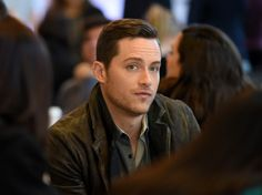 Jesse Lee Soffer Photos Photos - Actor Jesse Lee Soffer is interviewed as he attends a press junket for NBC's 'Chicago Fire', 'Chicago P.D.' and 'Chicago Med' at Cinespace Chicago Film Studios on November 9, 2015 in Chicago, Illinois. - NBC's 'Chicago Fire', 'Chicago P.D.' and 'Chicago Med' - Press Junket
