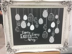 Easter project on the Avarie Chalkboard, find it here at pickindaisies.chalkcouture.com