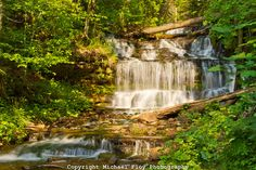 Wagner Falls, Munising Michigan by Michael Floy Photography