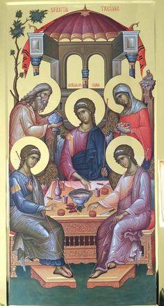 Byzantine Icons, Byzantine Art, Religious Icons, Religious Art, Monastery Icons, Greek Icons, Friend Of God, Church Icon, Roman Church