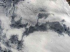 Satellite image above Peru shows self-organizing honeycomb cloud pattern. (Photo credit: NASA MODIS team.)
