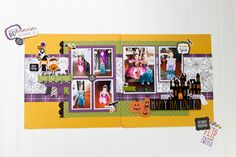 9U9A0174 Make Your Own, Make It Yourself, Halloween Magic, Echo Park Paper, Scary, Craft Projects, Paper Crafts, Crafty, Scrapbook Layouts
