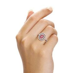 Make a Statement with this Red Danilo Ring by J Jaz Jewellery, Part of the bright and colourful Capri Collection. www.j-jaz.com