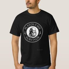 Plato's Cave Survivor - Philosophy Gift T-Shirt   #FathersDayCards #fathersdaybbq #fathersday15 fathers day crafts, happy fathers day quotes, funny fathers day quotes, 4th of july party