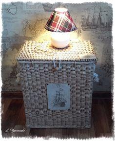 Купить Короб плетеный Поплывем к горизонту! - бежевый плетеный короб, короб в морском стиле