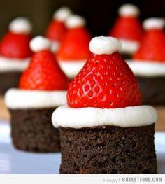 santa brownies!