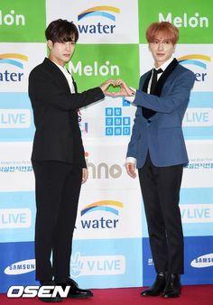 SUPER JUNIOR SUNBAE LEETEUK AND GOT7 RISING STAR JACKSON WAG ❤❤❤  Their hosting skills are very complimetary!