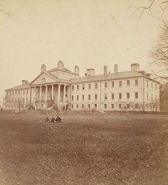Massachusetts General Hospital, Boston, Mass, circa 1860