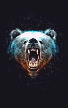 bear tattoo for Jacob Bear Tattoos, Animal Tattoos, Tatoos, Urso Bear, Bear Art, Mundo Animal, Spirit Animal, Spirit Bear, Design Art