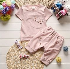 Pink Summer Cotton Set