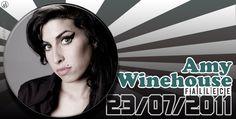 23 de #julio de 2011, fallece Amy Winehouse, cantante y compositora británica  #Undiacomohoy