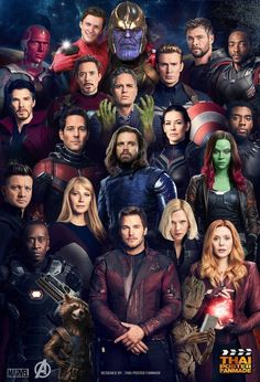 Upcoming Movies in Marvel Cinematic Universe After the devastating events of Avengers: Infinity War the universe is in ruins due to the efforts Marvel Dc Comics, Marvel Avengers, Avengers Movies, Marvel Funny, Marvel Heroes, Avengers Poster, The Avengers Assemble, Thanos Marvel, Marvel Movies In Order