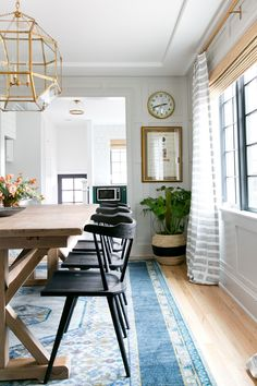Eclectic Dining Room. Denver Tudor Project | Studio McGee