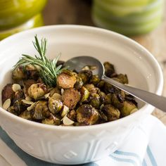 These Balsamic Glazed Oven Roasted Brussels Sprouts make for an excellent little side dish that's extremely easy to make and reheats like a charm!