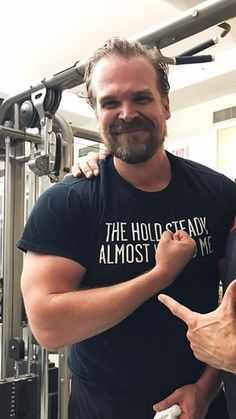 David Harbour completes Hellboy training