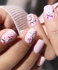 Short Nail Designs: Nail Art Designs for Short Nails to Try nailart shortnails nails manicure naildesigns Different Nail Designs, Short Nail Designs, Cute Nail Designs, Pretty Nail Art, Cute Nail Art, Easy Nail Art, Easter Nail Designs, Nail Designs Spring, Spring Nail Art