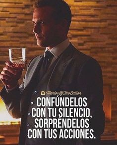Thoughts Are Law Of Attraction. Motivacional Quotes, Life Quotes, Motivational Phrases, Inspirational Quotes, Suits Serie, Mentor Of The Billion, Harvey Specter, Coaching, Spanish Quotes