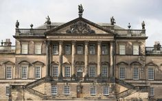 It is a year since the Wentworth Woodhouse, hidden in the South Yorkshire countryside just outside Rotherham, was bought by the Wentworth Woodhouse Preservation Trust for million. Beautiful Architecture, English Architecture, Architecture Design, Wentworth Woodhouse, Neoclassical Architecture, English Manor, South Yorkshire, Grand Homes, Chateaus