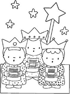 Three kings Coloring Pages Christian Christmas Crafts, Christmas Bible, Kids Christmas, Cat Coloring Page, Colouring Pages, Les Trois Rois Mages, Holiday Celebrations Around The World, Christmas Cards Drawing, Three Wise Men