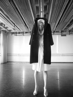 """ Katerina Jebb In a New Performance Piece, Tilda Swinton Turns Fashion Into Art The actress Tilda Swinton has for several years collaborated with Olivier Saillard, the director of Paris's Palais..."