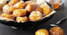 These scrumptious citrus and ricotta fritters are simply irresistible.