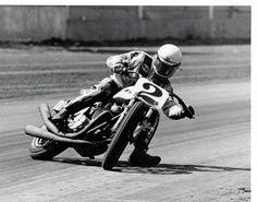 Flat track #2 Photo: Bert Shepard Kenny Roberts