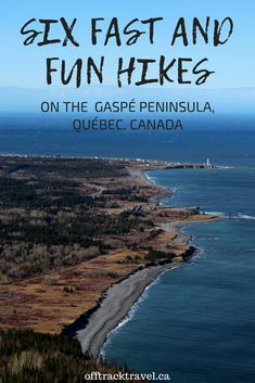 6 Fast and Fun Hikes on the Gaspé Peninsula, Québec Camping And Hiking, Outdoor Camping, Backpacking, Hiking Gear, Canadian Travel, Canadian Rockies, Travel Oklahoma, Quebec City, Best Hikes